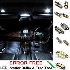 Interior Car LED Bulb Light KIT Package Xenon White 6000K For BMW 3 SERIES (E36)