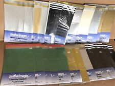 Lot of 92x Sheets Kanban Craft Scrapbook Card Making Frames, Borders, Layering