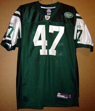 New York Jets #47 Sullivan Authentic Home Green Nfl Jersey