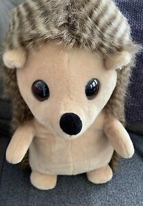 """Aurora Large Hedgehog Plush Stuffed Animal 18"""" Tall EUC"""