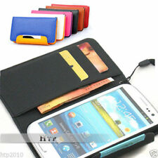 Samsung Galaxy S3 III i9300 Slim Wallet Flip Leather Pouch Case Cover AU