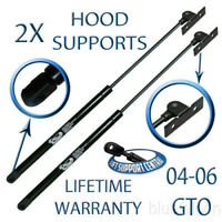 Two New Front Hood Lift Supports Shocks Strut Prop Rod Arm For 04-06 Pontiac GTO
