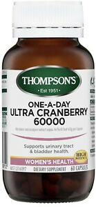 Cranberry Ultra 60000mg One-A-Day 60 Capsules Thompsons