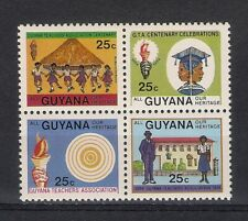 1984 Guyana Teacher's Association block/4 MNH -- charity sale