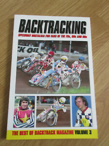 Speedway Backtracking book volume 3 - 70s 80s and 90s nostalgia NEW