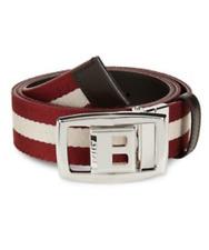 Bally Tonni Striped Reversible Belt 44668 Men's Size 34/85