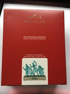 Hallmark HITCHHIKING GHOSTS Keepsake 2020 Disney Haunted Mansion Ornament NIB