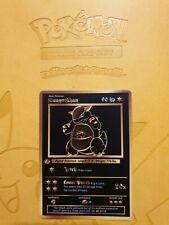 Pokemon Base 1st Kangaskhan Gold LUXURY CARD custom card Christmas gift