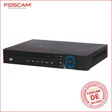 Red vídeo grabadora para Foscam cámaras IP * Canal 8 * 8 Poe * máx. 8tb festpl