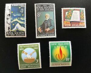 New Zealand Stamp 1967 Anniversaries - UHM