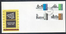 New Zealand 1979 Architecture FDC First Day Cover #C12973