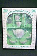 Precious Moments ~ Our Friendship Hits the Spot ~ 12 pcs Porcelain Tea Set 1985