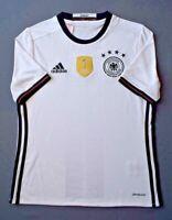 Germany Jersey 2016 2017 Home 13-14 y Youth Trikot Football Shirt Adidas ig93