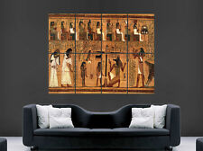 EGYPTIAN MARKINGS HIEROGLYPHICS POSTER ART HUGE IMAGE  LARGE WALL PICTURE