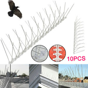 5M Metal Wall Fence Spikes Anti Security Birds Pigeon Spikes Repeller Deterrent