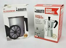 bialetti 6 cup moka express and tuttocrema frother