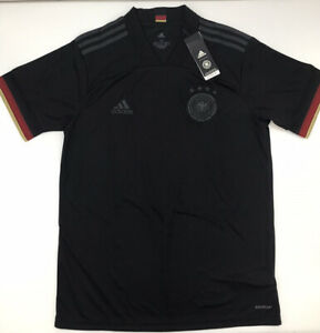 Germany Away Jersey 2021 Euros Adidas Black S-XL New with Tags