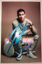 NICK JONAS Authentic Hand Signed Autograph 4x6 photo with COA