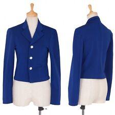 (SALE) COMME des GARCONS wool nylon short jacket Size About  S(K-18537)