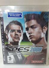 PES 2008 PRO EVOLUTION SOCCER PS3