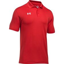 Mens Under Armour Polo Shirt Team Performance Polo New Authentic