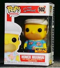 Funko Pop! The Simpsons HOMER MUUMUU Hot Topic Exclusive