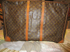 Authentic LOUIS VUITTON Monogram Sirius  Travel Suitcase Luggage Vintage Bag