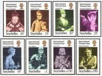 International Women's Year Seychelles #331 - 338 Mint NH 1975 Complete Set