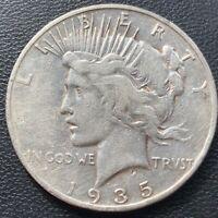 USA 1935 S Peace Dollar $1 Selten Silber Aus Umlauf #25899