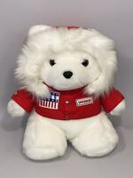 Dayton Hudson Santa Bear 1989 Plush Teddy Red Jacket Parka Christmas Polar Club