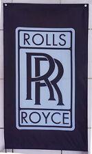 New flag for Black Rolls Royce Flag Rolls-Royce Car Banner Flags Free Shipping
