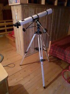 telescopio rifrattore equatoriale 90mm