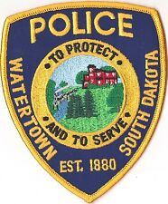 Watertown Police Patch South Dakota SD NEW