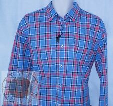 "Hugo Boss ""Roony"" Mens Plaid Button Down Shirt Size XL (50259302 404), NWT"