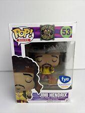 Funko Pop! Rocks Purple Haze Properties #53 Jimi Hendrix F.Y.E Exclusive Vaulted