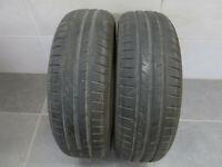 2x Sommerreifen Dunlop Sport Bluresponse 185/60 R15 84H / 6,8 mm