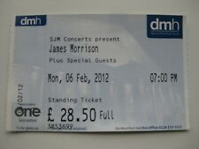 JAMES MORRISON  LEICESTER  06/02/2007  TICKET
