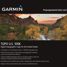 Garmin TOPO U.S. 100K Maps GPS MicroSD Data Card Topographic Full US Coverage!