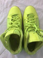 Nike mens yellow hightops trainers size 11 US 10 UK EU 44