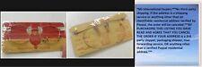 VTG 30s AO Lennon Gold Round Eyeglass Spectacle UNUSED 1/10 12k GF AMER OPTICAL