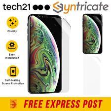 TECH21 IMPACT SHIELD SELF-HEALING SCREEN PROTECTOR FOR IPHONE XS/X