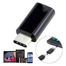 USB3.1 Type-C Male to Micro USB Female Converter USB-C Adapter Konverter schwarz