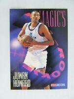 Juwan Howard Washington Bullets 1995 NBA Hoops Basketball Card AR 5