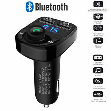 Bluetooth Car Kit FM Transmitter Radio MP3 Player USB Charger Wireless Handsfree