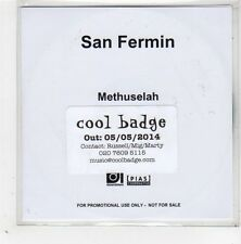 (GE274) San Fermin, Methuselah - 2014 DJ CD