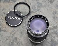 Asahi Pentax Takumar f/3.5 135mm Silver Black Preset Telephoto Lens M42 (#3655)