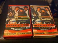 Hearts of Fire VHS Bob Dylan Fiona Rupert Everett Ian Dury no DVD Village video
