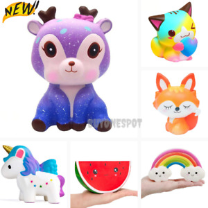 Stress Toys Jumbo Squishy Relief Toy Rising Slow Squishys Soft Squeeze Kids Gift