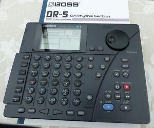 Boss DR-5 Drumcomputer