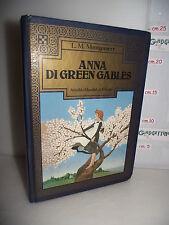 LIBRO L.M.Montgomery ANNA DI GREEN GABLES 1^ed.1980 Illustrazioni G.Mulazzani☺